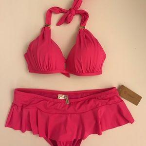Cremieux 2 peice bikini swim suit